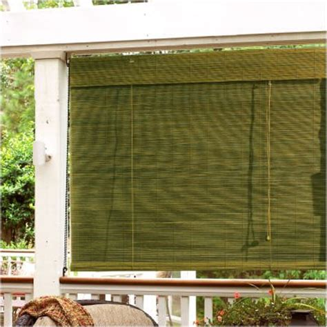 outdoor patio shades patio shades bamboo blinds and shades