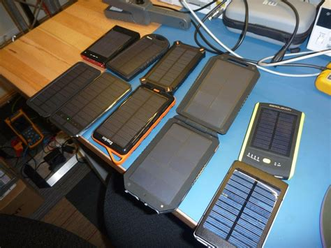 powerbank solar test solar usb power bank tests review