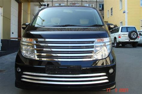 Nissan Elgrand Hd Picture by 2004 Nissan Elgrand Pictures