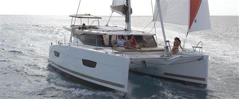 Catamaran Lucia 40 by Catamaran Sailboat Lucia 40 Fountaine Pajot
