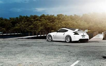 370z Nissan Tuning Wallpapers Cars Dog Background