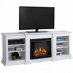 Electric Fireplaces Tv Console Southern Enterprises Narita Espresso