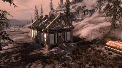 Kleines Haus Bauen by Skyrim Haus Bauen Mit Hearthfire Der Baustelle Zum