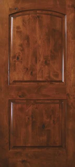 prehung exterior interior single door  knotty alder