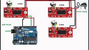 Arduino 3 Axis Cnc Shield Stepper Board Wiring Diagram