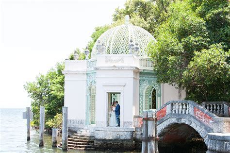 Vizcaya Museum and Gardens ? Daytime Garden Ceremony ? Intimate Wedding   Small Miami Weddings
