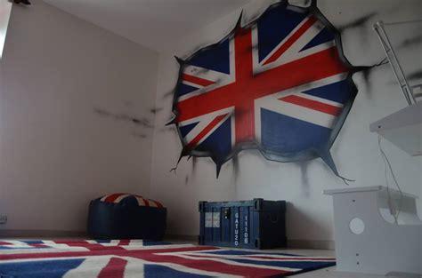 chambre deco londres décoration chambre theme londres