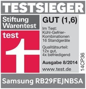 Kompressor Test Stiftung Warentest : samsung rb29fejnbsa ef k hl gefrier kombination im test ~ Jslefanu.com Haus und Dekorationen