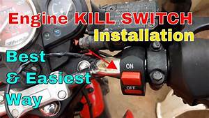 Kill Switch Installation For Bike And Scooters