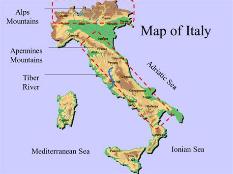 Rhythm And Alps Travel Map Directions And Location The Geography Of Ancient Rome Ppt