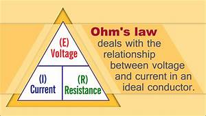 A Simply Awesome Explanation Of The Ohm U0026 39 S Law