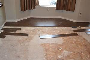 putting laminate floor over carpet With can you lay laminate flooring over tile