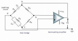 Wein Bridge Oscillator Using Op-amp