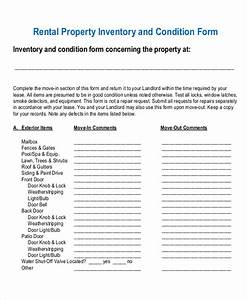17 inventory templates free sample example format With inventory for rental property template