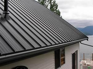 Vancouver ziplok metal roofing photos for Metal roof