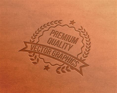 letterpress logo mockups psd templates webrfree