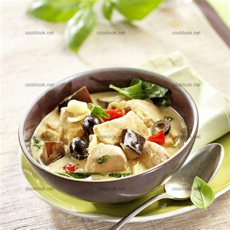 cuisine poulet curry vert photo culinaire curry vert de poulet photo recette