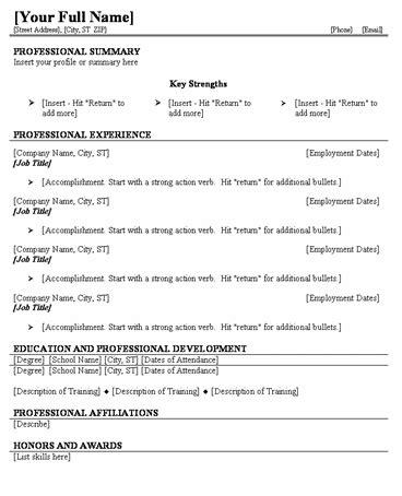 Printable Resume by Free Printable Resume Templates Blank Business Card