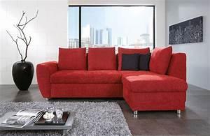 Sofa Günstig Online Kaufen : multiflexx von poco home trend ecksofa rot sofas couches online kaufen ~ Orissabook.com Haus und Dekorationen