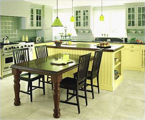 kitchen table and island combinations 50 beautiful kitchen table ideas home ideas
