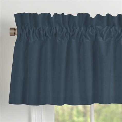 navy blue valance solid navy window valance rod pocket carousel designs