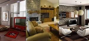 Obývací pokoje inspirace barvy