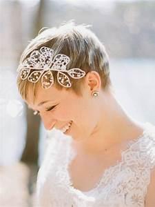 Coiffure Mariage Cheveux Court : coiffure mariage cheveux courts sans extensions pour le ~ Dode.kayakingforconservation.com Idées de Décoration
