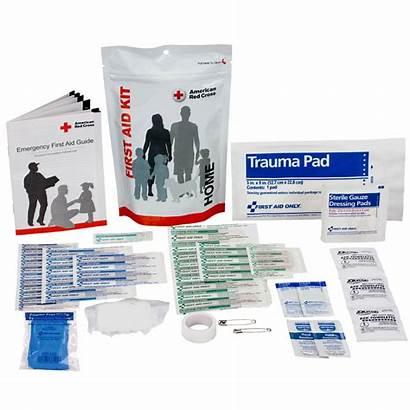 Aid Kit Zip Supplies Redcross Cross