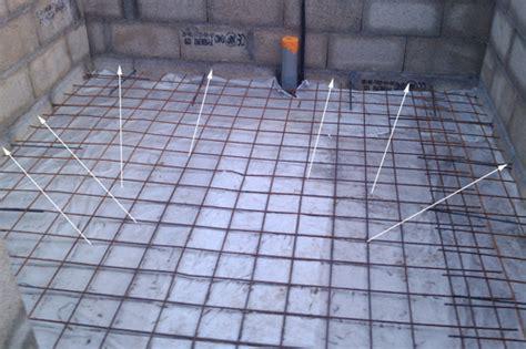 pool house piscine coulage de la dalle en b 233 ton ferraill 233 e