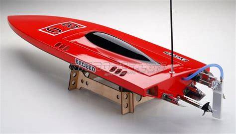 Nitrorcx Boats by Exceed Racing Boat Electric Powered Fiberglass Sword 630ep