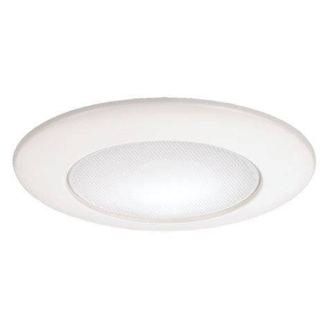 home depot recessed lighting trim commercial electric 4 in white led recessed trim