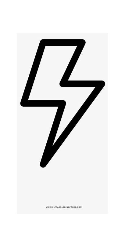 Lightning Flash Bolt Coloring Camera Icon Pngkey
