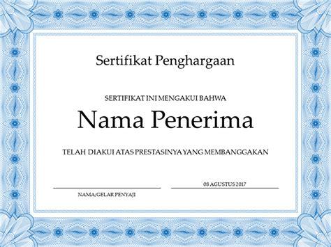 sertifikat officecom