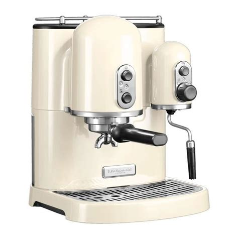 cuisine kitchenaid kitchenaid machine à café espresso kitchenaid artisan crème 5kes2102eac 5kes2102eac achat