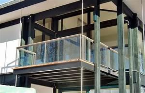 Balkon Mit Glas : metal construction stahlbau m rz ~ Frokenaadalensverden.com Haus und Dekorationen