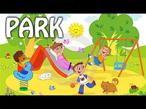 in the park park vocabulary for preschool 993 | hqdefault