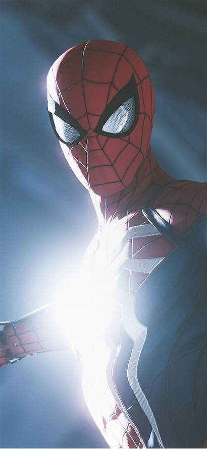 Iphone Ps4 Spider Xr Wallpapers Backgrounds Mobile