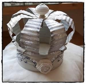 Basteln Mit Blechdosen : krone aus einer 24 cm hohen und 15 5 cm breiten konservendose c c kreativ pinterest kronen ~ Orissabook.com Haus und Dekorationen
