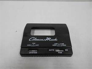 Coleman Thermostat Manual