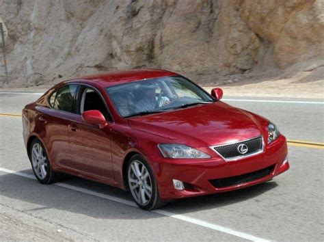 Red 2006 Lexus Is Front Right Car Picture Classy Car Pics