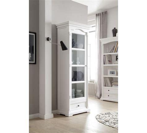 colonne vitrée bois blanc quot blanche quot 6512
