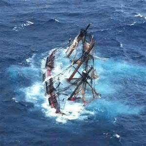 captain s judgment questioned after sinking of tall ship