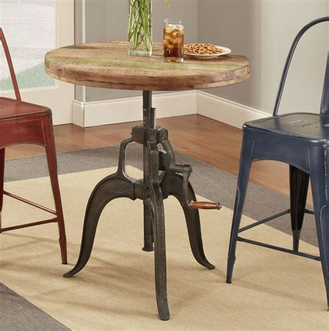 rustic collectibles  counter height table  largo