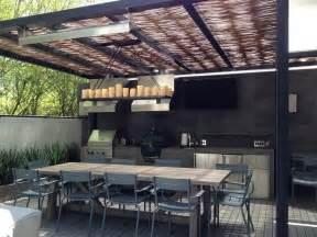 Modern Outdoor Kitchen Ideas by P 233 Rgolas Jardines Terrazas Con Estilo Muy Modernas