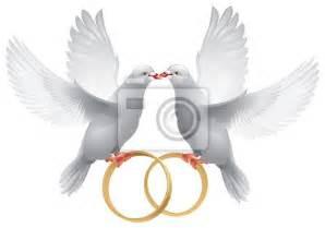 anneaux de mariage anneaux de mariage avec colombe images