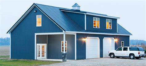 Delaware Sheds And Barns by Custom Pole Buildings In Delaware Maryland Green