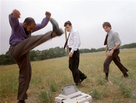 Office Space Smashing Printer by Office Space Printer Smash Blank Template Imgflip