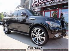 Infiniti QX56 with 26in Savini BM5 Wheels exclusively from