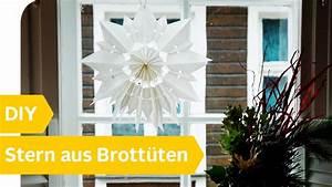 Sterne Aus Butterbrottüten Basteln : stern basteln aus butterbrott ten youtube ~ Watch28wear.com Haus und Dekorationen