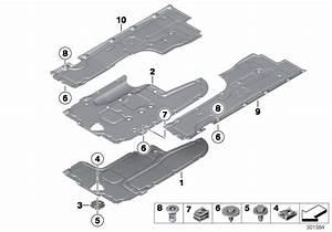 Bmw 750li Lateral Underbody Shield  Right  Alpina